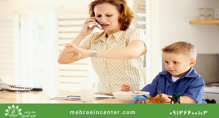 مشاوره کودک مهرآیین