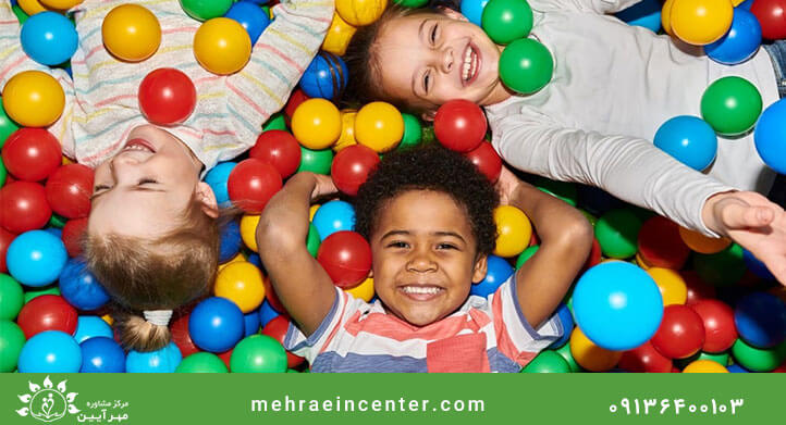 کودکان در مرکز مشاوره کودک در اصفهان