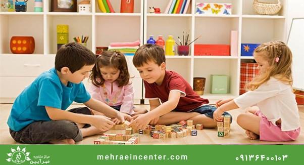بازی مناسب سن کودکان 3 تا 5 سال