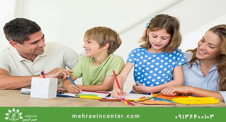 فعالیت ها مهارت های موثر بین فرزندان